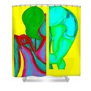 Goodbye Shower Curtain by Patrick J Murphy
