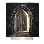 Gothic Light Shower Curtain by Carlos Caetano