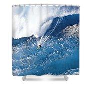 Grace Under Pressure Shower Curtain by Sean Davey