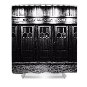 Grand Ole Opry House Shower Curtain by Dan Sproul