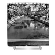 Grand Rapids Shower Curtain by Dan Sproul