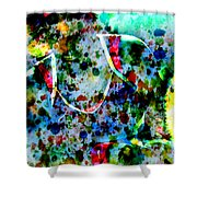 Grand Slam Shower Curtain by Brian Reaves