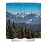 Grandjean Valley Shower Curtain by Robert Bales