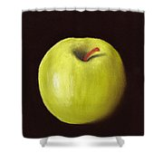 Granny Smith Apple Shower Curtain by Anastasiya Malakhova