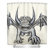 Grevil Shower Curtain by Shawn Dall