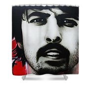 'grohl' Shower Curtain by Christian Chapman Art
