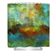 Grotto Shower Curtain by Ely Arsha