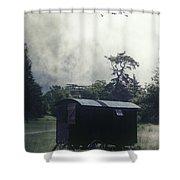 Gypsy Caravan Shower Curtain by Joana Kruse