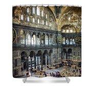 Hagia Sophia Interior Shower Curtain by Joan Carroll
