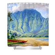 Hanalei Style Shower Curtain by Jenifer Prince