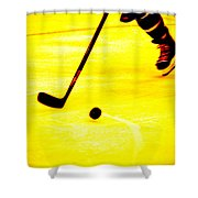 Handling It Shower Curtain by Karol Livote