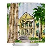 Hanford - California Sketchbook Project Shower Curtain by Irina Sztukowski