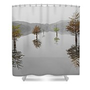 Hanging Garden Shower Curtain by Debra and Dave Vanderlaan