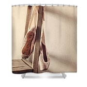 Hanging In The Moment Shower Curtain by Amy Weiss