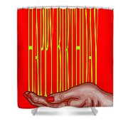 Happy Birthday 4 Shower Curtain by Patrick J Murphy