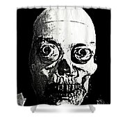Happy Halloween Shower Curtain by John Malone