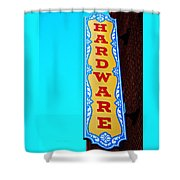 Hardware Store Shower Curtain by Chris Berry