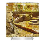 Harrappa Unesco World Heritage Site Shower Curtain by Catf