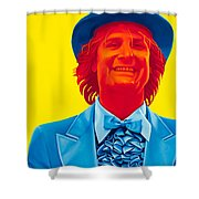 Harry Dunne Shower Curtain by Ellen Patton