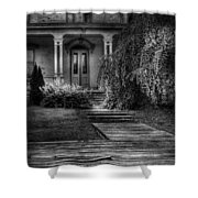 Haunted - Haunted II Shower Curtain by Mike Savad