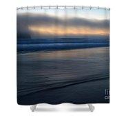 Haystack Hidden Shower Curtain by Mike  Dawson
