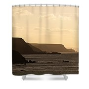 Headland Shower Curtain by Anne Gilbert