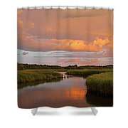 Heaven on Earth Shower Curtain by Juergen Roth