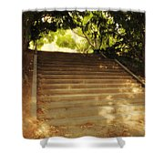 Heavenly Stairway Shower Curtain by Madeline Ellis