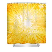 Here Comes The Sun Shower Curtain by Kume Bryant