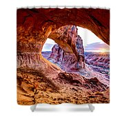 Hidden Alcove Shower Curtain by Chad Dutson