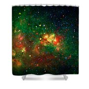 Hidden Nebula Shower Curtain by The  Vault - Jennifer Rondinelli Reilly