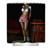Higher Learning Shower Curtain by Alexander Butler