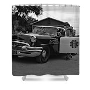 Highway Patrol 4 Shower Curtain by Tommy Anderson