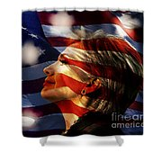 Hillary 2016 Shower Curtain by Marvin Blaine