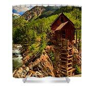 Historic Colorado Shower Curtain by Adam Jewell