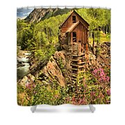Historic Crystal Colorado Shower Curtain by Adam Jewell