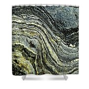 History Of Earth 9 Shower Curtain by Heiko Koehrer-Wagner