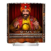 Hobby - Have Your Fortune Told Shower Curtain by Mike Savad