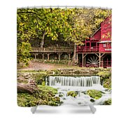 Hodgson Mill Shower Curtain by Steven Bateson