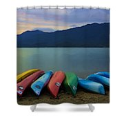 Holding On To Summer Shower Curtain by Heidi Smith