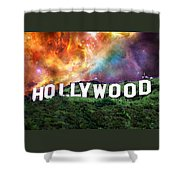 Hollywood - Home Of The Stars By Sharon Cummings Shower Curtain by Sharon Cummings