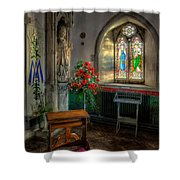 Holy Ground Shower Curtain by Adrian Evans