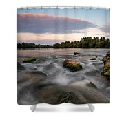 Home Shower Curtain by Davorin Mance