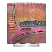 Homestead Chev Shower Curtain by Jerry McElroy