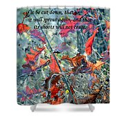 Hope Shower Curtain by Deena Stoddard
