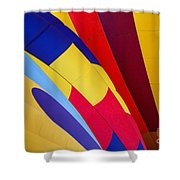 Hot-air Patterns Shower Curtain by Mike  Dawson