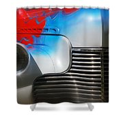 Hot Chevy Shower Curtain by Mick Anderson