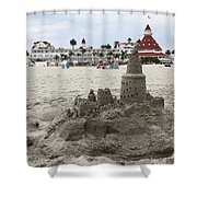 Hotel Del Coronado In Coronado California 5D24264 Shower Curtain by Wingsdomain Art and Photography