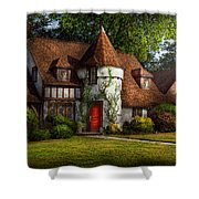 House - Westfield NJ - Fit for a king Shower Curtain by Mike Savad