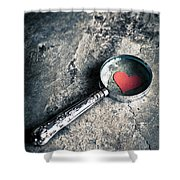 How Do I Love Thee? ... Shower Curtain by Jan Bickerton